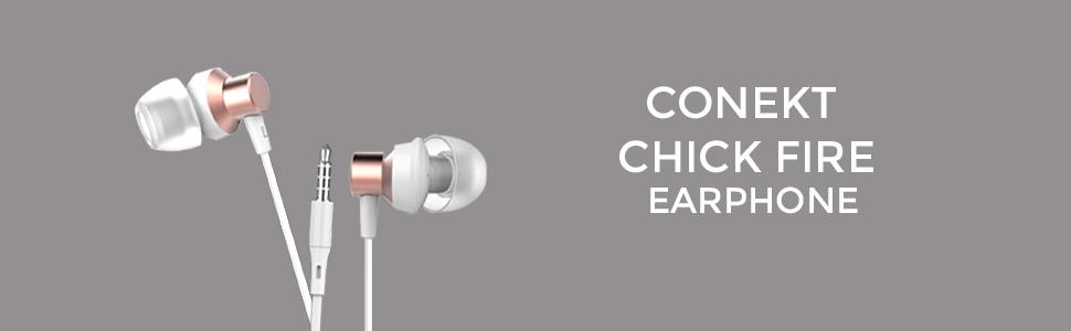 Conekt Chic Fire Earphone
