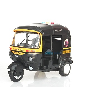 all toys bump and go toys pull along toys diecast auto rickshaw toy sound & light vehicle set
