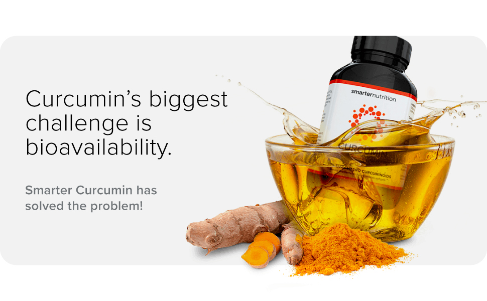 Curcumin's biggest challenge is bioavailability. Smarter Curcumin has solved the problem!