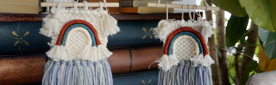 rainbow bridge weaving