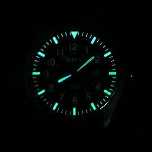 Mens Army Field Tactical Sport Watch Work Watch