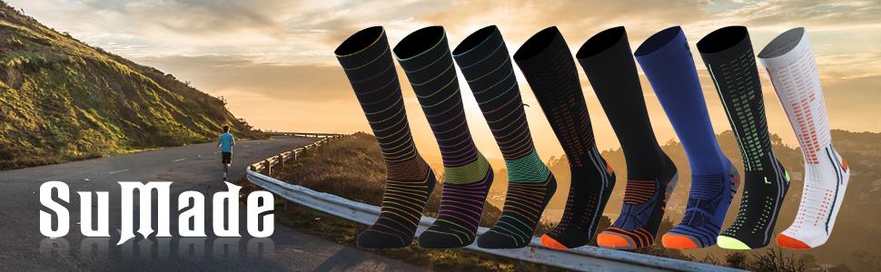 lightweight compression socks women