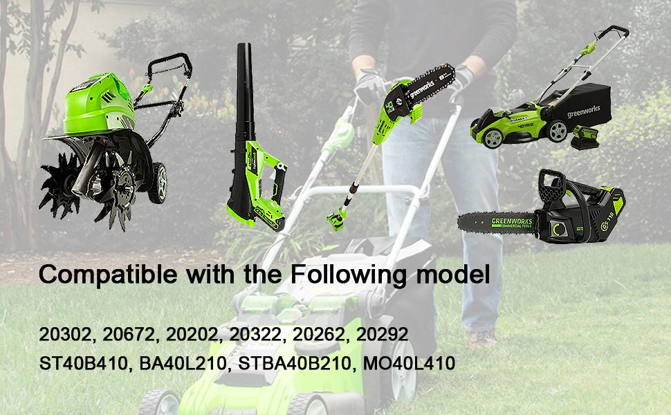 Greenworks 29472 6000mAh battery