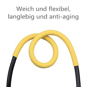 Mjuka och flexibla krympslangar