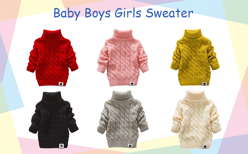 baby boys girls sweater