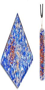lapis lazuli pendant and pyrai