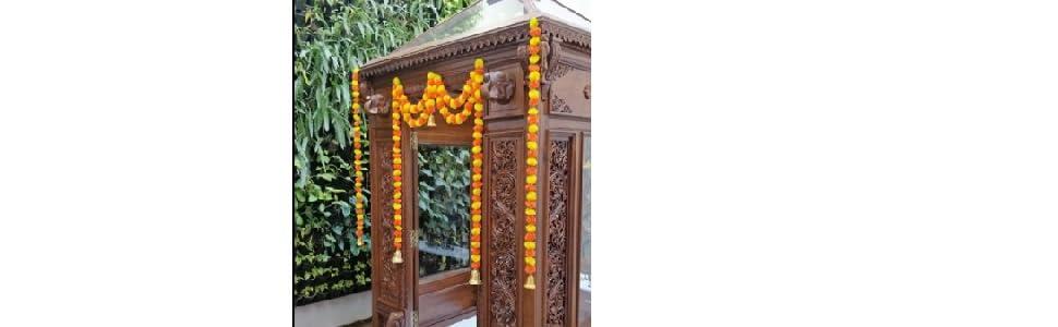 door toran, door hangings, affordable full door decoration toran new design genda door toran