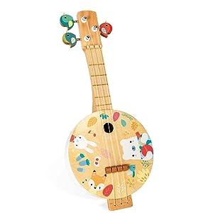 banjo pure bois janod