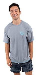 seavenger shor sleeve unisex rash guard