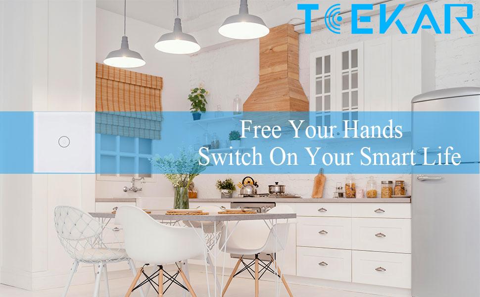 ZigBee 3.0 Lichtschalter Kompatibel mit Alexa und Google Home