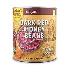 organic dark red kidney beans bulk