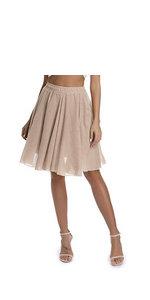 womens knee length skirt