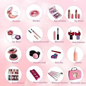 01 pink makeup 配件图