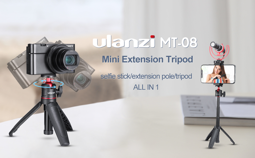 Ulanzi MT-08 Extension Phone Tripod