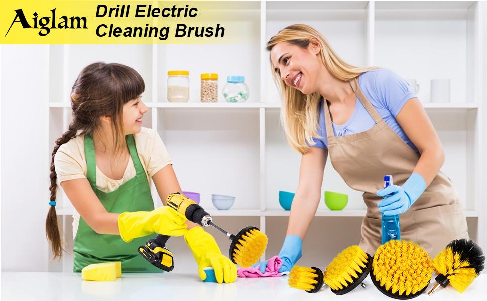 Aiglam elektryczna szczotka do czyszczenia