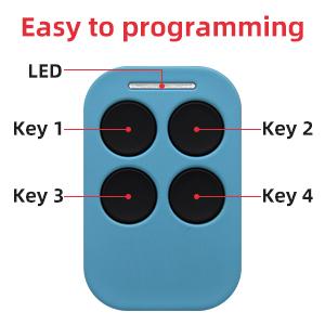 4 key remote control