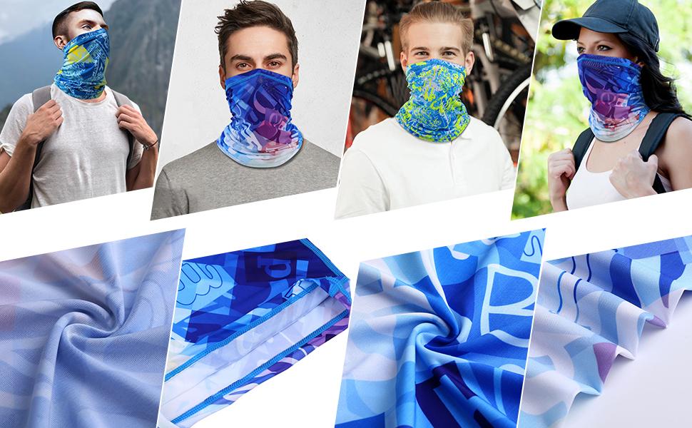 Axige888 The Old Mans Universe 16-in-1 Magic Scarf,Face Mask,fishing Mask,Thin Ski Mask,Neck Warmer Balaclava Bandana