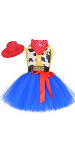 Handmade Halloween Party Cosplay Birthday Tutu Tulle Outfit for Kid Toddler Child with Headband Girl Lilo Costume Dress Up