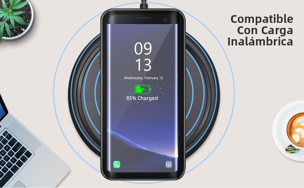 Beeasy Funda Samsung Galaxy S8,Impermeable 360 Grados Protección ...