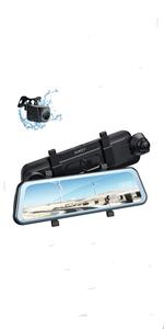 Superkondensator HDR Vision Nocturne Cam/éra Voiture avec Capteur-G Enregistrement en Boucle et 2 Ports Chargeur de Voiture AUKEY cam/éra Embarqu/ée Voiture 4K HD Dashcam Grand Angle 157/°