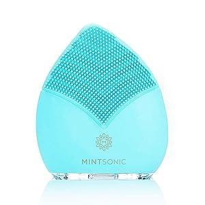 mintsonic facial cleansing brush face brush