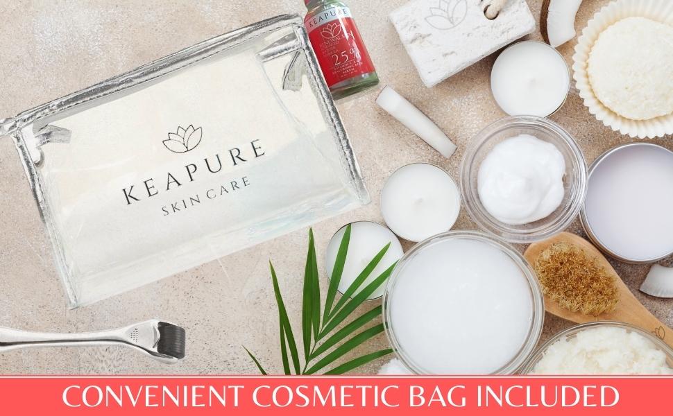 Cosmetic bag sets & kits skin care gift