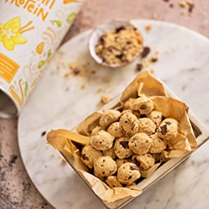 Alpha Foods protein eiwitten proteinen vegan veganistisch vegetarisch plantaardig chocolade vanille