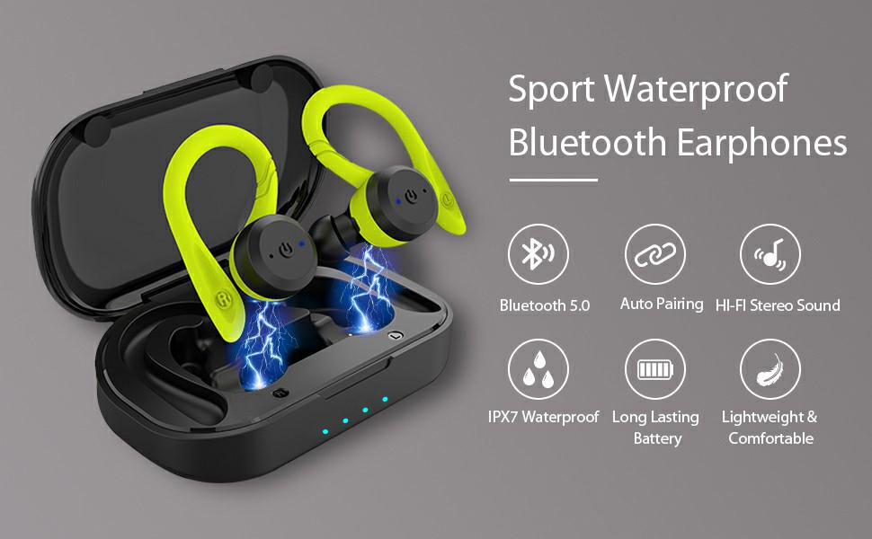 bluetooth 5.0 earphones