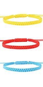 woven bracelets for 3