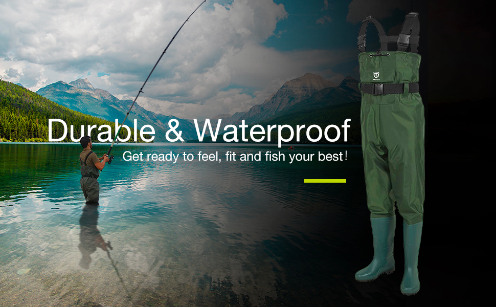 tidewe pvc chest waders