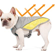 Rantow Dog Cooling Vest Harness Outdoor Puppy Cooler Jacket for Small Medium Large Dogs