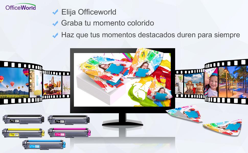 OfficeWorld Compatible Brother TN241 TN245 TN-241 TN-245 Cartouche ...