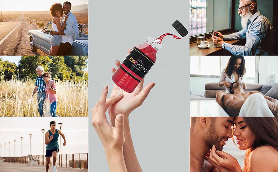kisskong vigueur tonus sport performance homme stimulant puissant endurance couple