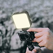ring light with clip