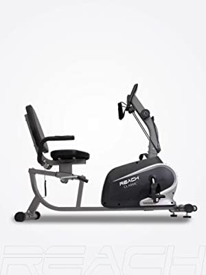 Reach Classic Recumbent Bike Folding Exercise Cycle for Home Use