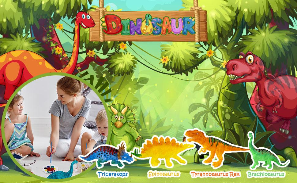 dinosaur painting kit for kids