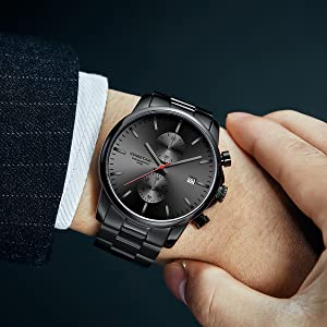 Black red watch