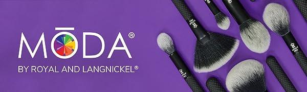 Makeup Brushes, Makeup Brush Set, Premium Makeup Brushes,Travel Makeup Brushes, MODA Makeup Burshes