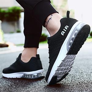 Homme Femme Air Running Chaussures Trail L/éger Respirante Absorption des Chocs Sneakers,GR.36-46 EU
