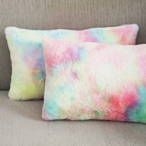 pillow covers set of 2 lilac