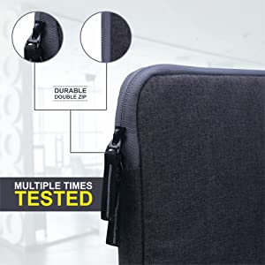 zip laptop cover bag 15 inch