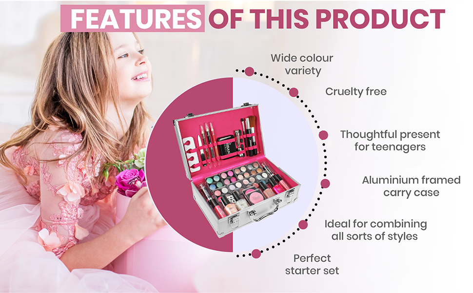 Dazzling Vanity Case Features of Product