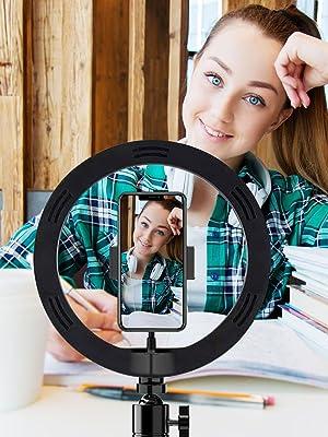 Selfie stick photography accessories ring light live stream universal photo lighting studio holder