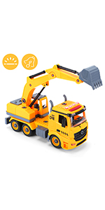 excavator toy for boys