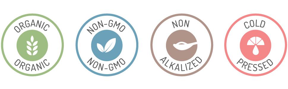 non-gmo organic non-alkalyzed criollo cold pressed cacao beans cocoa coco powder cocao