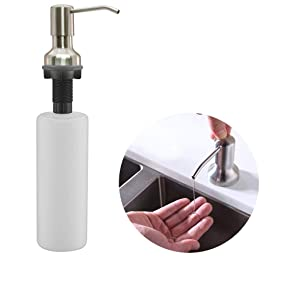 sink Soap dispenser for bathroom kitchen sink wash basin wall mounted manual automatic