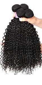 kinky curly hair bundles
