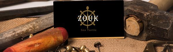 Zouk logo - 100 % Vegan, proudly Indian Brand