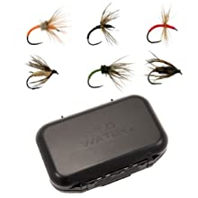 wild water fly fishing flies, small fly box, custom designed fly box, tenkara flies