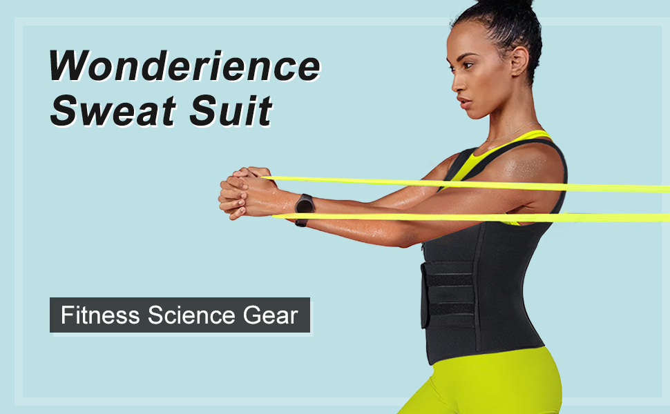 neoprene sauna suit for women